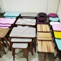 صورة- طقم طاولات عدد 3