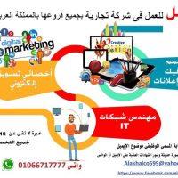 صورة- مطلوب مهندس شبكات it لشركة تجارية بالسعودية