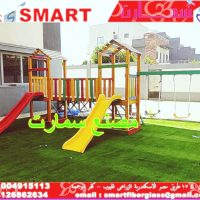 صورة- مجمعات العاب اطفال خشبية للنوادى والمدارس والحضانات