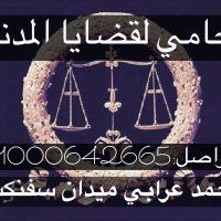 صورة- محامي قضايا المدنية في مصر