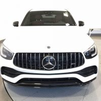 01 Clean Benz 2020 Glc 43 AMG Coupe white color