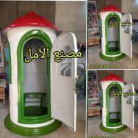 للبيع اكشاك حراسة فيبر جلاس 105 سم في مصر - مصنع الأمل للفيبر جلاس