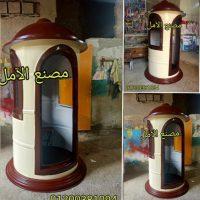 مصنع اكشاك حارس امن للبيع في مصر الأمل للفيبر جلاس