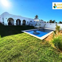 Djerba villa neuve 3 ch avec jardin piscine residence bord de mer 10