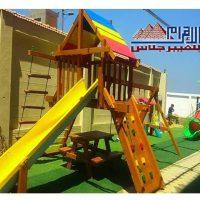 6 5 العاب اطفال وابراج مجمعة فيبر جلاس
