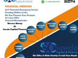 0012 Borrow Money At Sawda Capital Finance