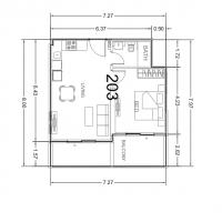 Capture شقة 3 غرف للبيع في دبي،الجداف