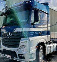 شاحنة مرسيدس اكتروس 2016 للبيع