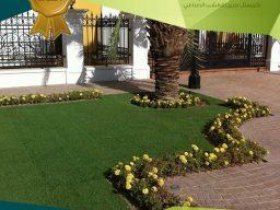 142 النجيل الصناعي بالكويت | عشب طبيعى وصناعى بالكويت