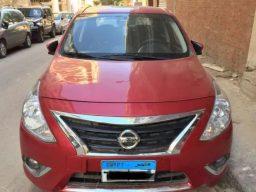 للايجار بدون سائق سيارة نيسان صاني 2020