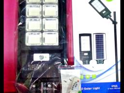 كشاف طاقه شمسيه 600 واط يعمل بدون مصدر للكهرباء