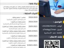 مصمم جيرافيك سوشيال ميديا وموشن جيرافيك مقيم بمصر يبحث عن عمل