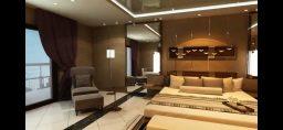 غرفتين وصالة في أفضل موقع على شارع جمال عبد الناصر، تقسيط 10 سنوات، دون وسيط