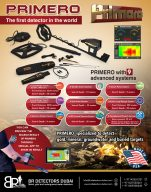 Gold Nuggets Detector PRIMERO AJAX