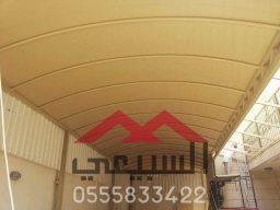مظلات بي في سي, مظلات سيارات, تنفيذ مشاريع مظلات سيارات في الرياض,