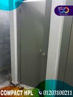 ابواب hpl - فواصل حمامات كومباكت و اكسسورات استانليس ستيل