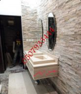 صور مغاسل حمامات حديثة رخام