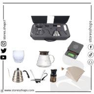 بوكس v60   متجر ستويس شوبس   افضل متجر ادوات قهوة بالسعودية