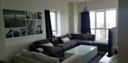 شقة كبيرة للبيع في اسطنبول تركيا. منطقة جميلة ، منظر رائع من النافذة ، 4 غرف نوم ، 200 متر مربع ، مفروشة. 250000 دو