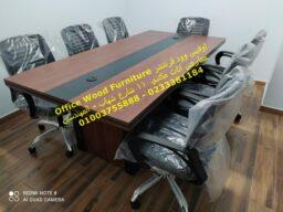 اثاث شركات ترابيزات اجتماعات كنب انتظار 3 مقعد اثاث مكتبي متكامل اوفيس وود
