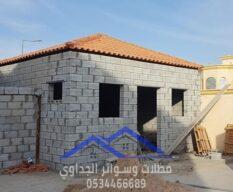 بناء ملاحق استراحات غرف مجالس في جدة ,