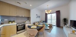 للبيع شقة جاهزة لتسليم غرفتي نوم وصالة على شاطئ الخان في #الشارقة