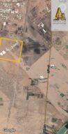 قطعة ارض في المحورية مربع ١٤ ( جنوب شرق الخرطوم - شارع مدني الجديد)